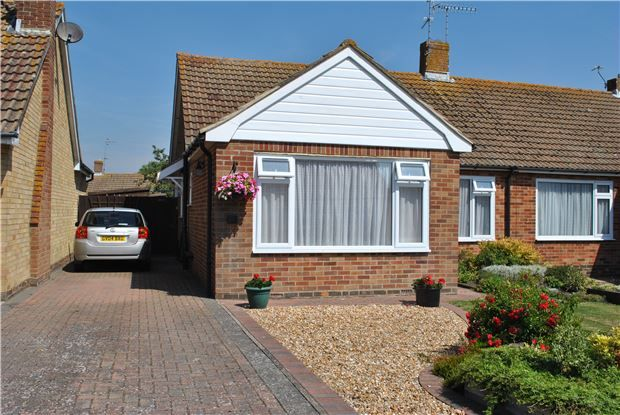 Thumbnail Semi-detached bungalow for sale in Cornmill Gardens, Polegate