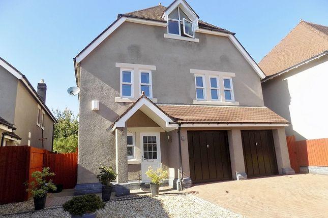 Thumbnail Detached house for sale in Preswylfa Court, Merthyr Mawr Road, Bridgend.