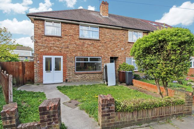 Thumbnail End terrace house to rent in Highlands Close, Hounslow