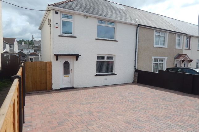 Thumbnail End terrace house for sale in Lilian Grove, Ebbw Vale