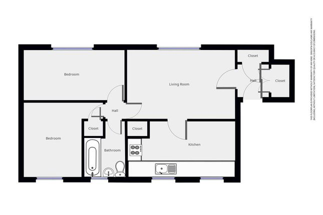 Floorplan of Don Drive, Craigshill, Livingston EH54