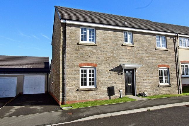 Thumbnail Detached house for sale in Lantern Close, Llanharan, Pontyclun, Rhondda, Cynon, Taff.