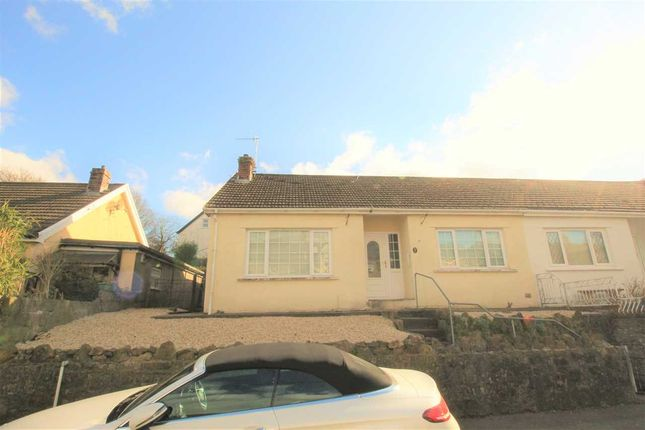 Thumbnail Bungalow for sale in Bedw Close, Porth, Porth