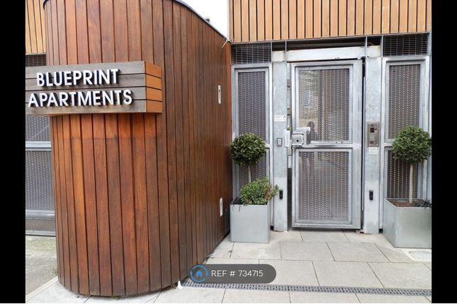 Entrance of Blueprint Apartments, Balham SW12