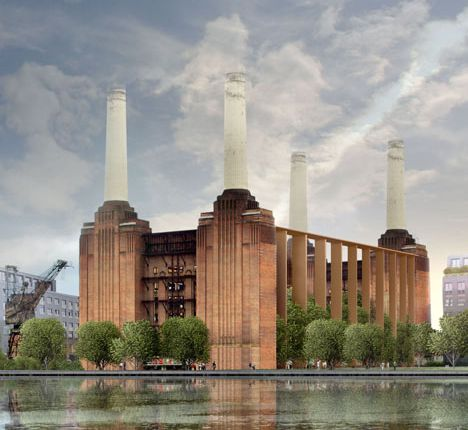 Thumbnail Flat for sale in Boiler House, Battersea Powerstation, Battersea