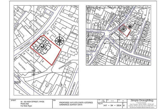 Thumbnail Land for sale in High Street, Ryde, Isle Of Wight
