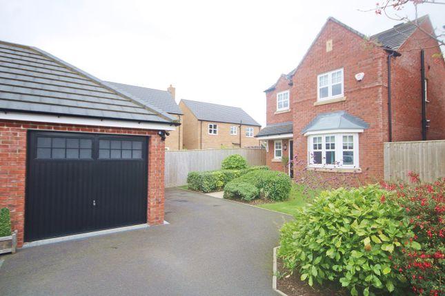 Thumbnail Detached house for sale in Sergeant Drive, Paddington, Warrington
