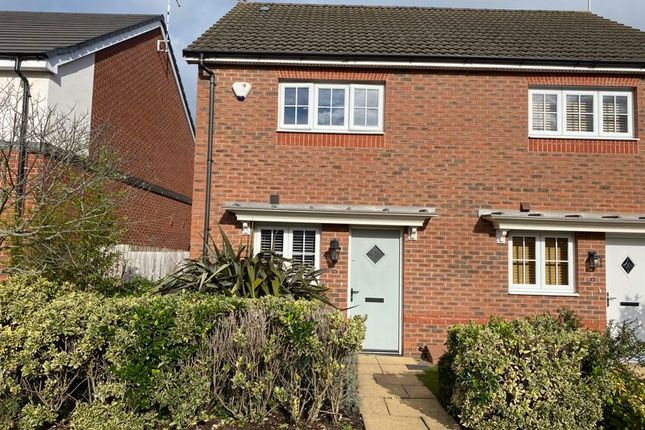 Thumbnail Semi-detached house to rent in The Cloisters, Wood Street, Earl Shilton, Leicester