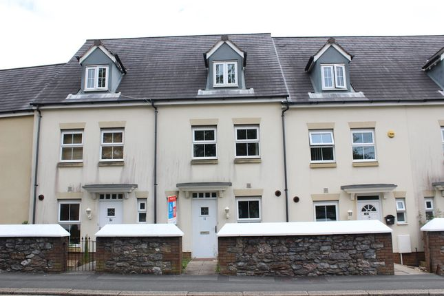 Thumbnail Town house for sale in Recreation Road, Plymouth