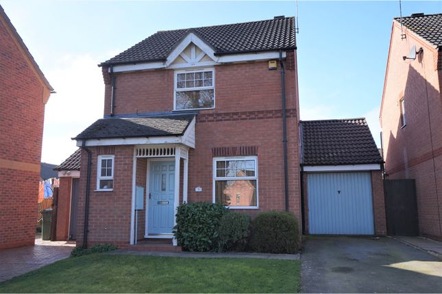 Thumbnail Link-detached house for sale in Ambergate Close, Brockhill