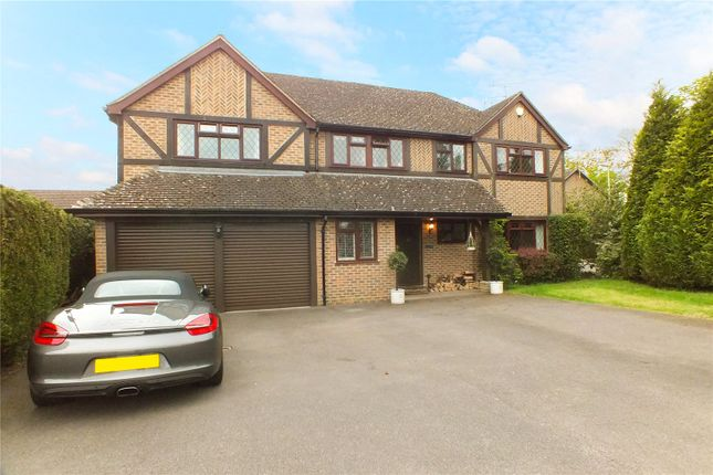 Thumbnail Detached house for sale in Swan Way, Church Crookham, Fleet, Hampshire