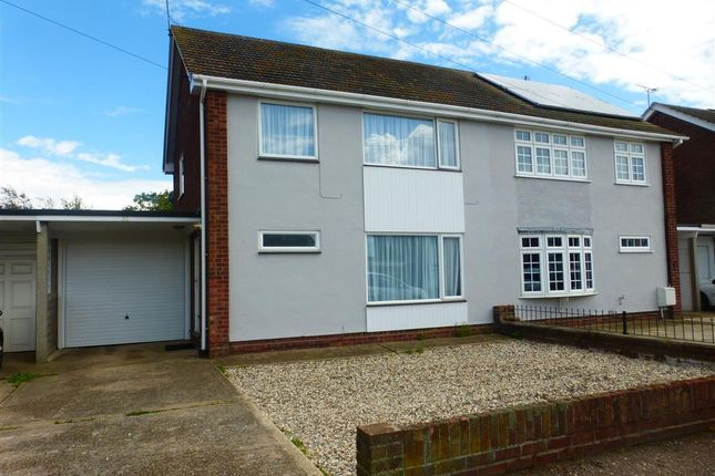 Thumbnail Semi-detached house to rent in Dedham Avenue, Clacton-On-Sea