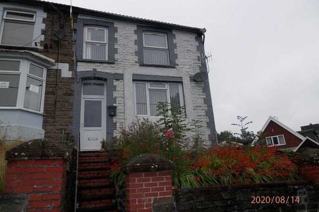 Thumbnail End terrace house for sale in Chepstow Road, Cwmparc, Rhondda Cynon Taff.