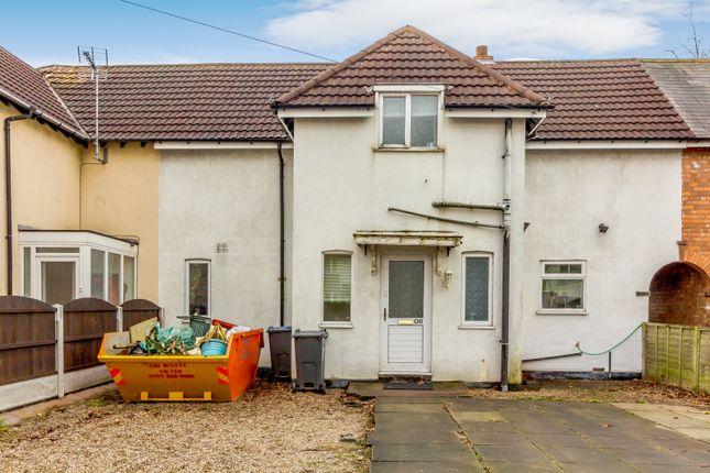 Thumbnail Terraced house for sale in 136 Goosemoor Lane, Birmingham