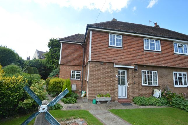 Thumbnail Semi-detached house for sale in Orchard Close, Church Street, Bexhill-On-Sea