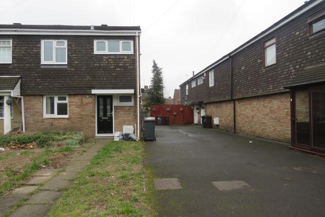 Thumbnail End terrace house to rent in Astbury Close, Wolverhampton