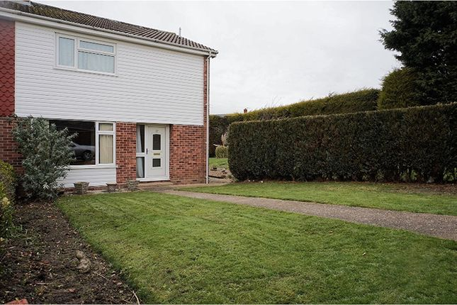 Thumbnail Semi-detached house for sale in Champneys Road, Diss