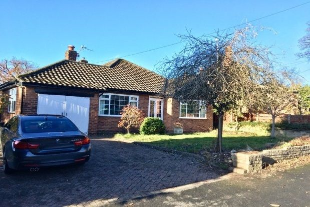 Thumbnail Bungalow to rent in Southern Crescent, Bramhall, Stockport