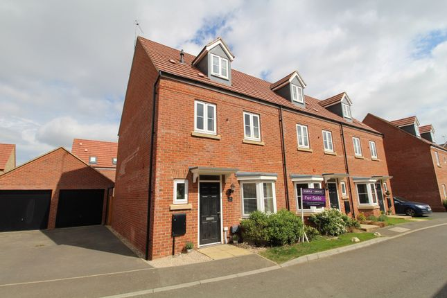 Thumbnail End terrace house for sale in Heston Walk, Oxley Park