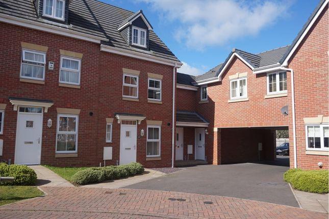 Thumbnail Terraced house for sale in Highlander Drive Donnington, Telford
