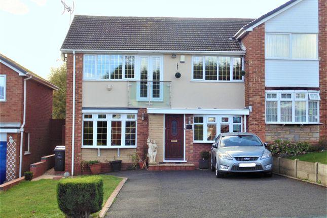 Thumbnail Semi-detached house for sale in Longleat, Birmingham