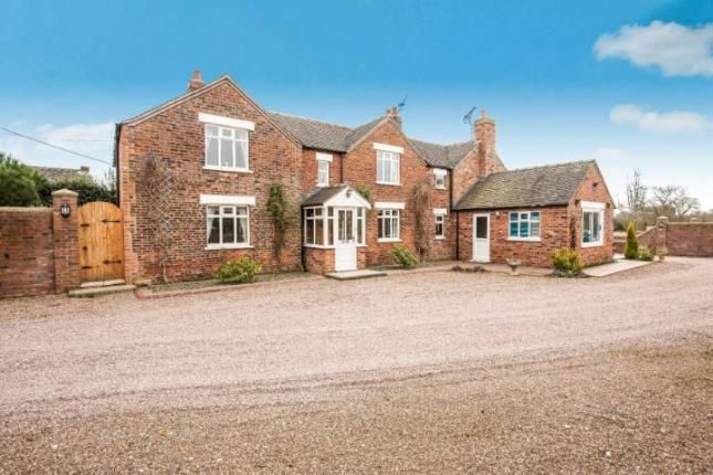 Thumbnail Detached house for sale in Whetstone Edge Farm, Wall Hill, Cheshire