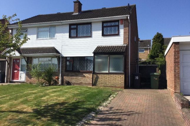 3 bed semi-detached house to rent in Whitethorn Crescent, Streetly B74