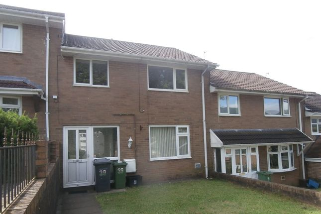 Thumbnail Terraced house to rent in Caerwent Road, Croesyceiliog, Cwmbran
