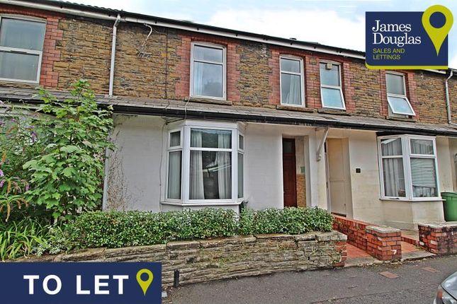 Thumbnail Terraced house to rent in Lewis Street, Treforest, Pontypridd, Rhondda Cynon Taff