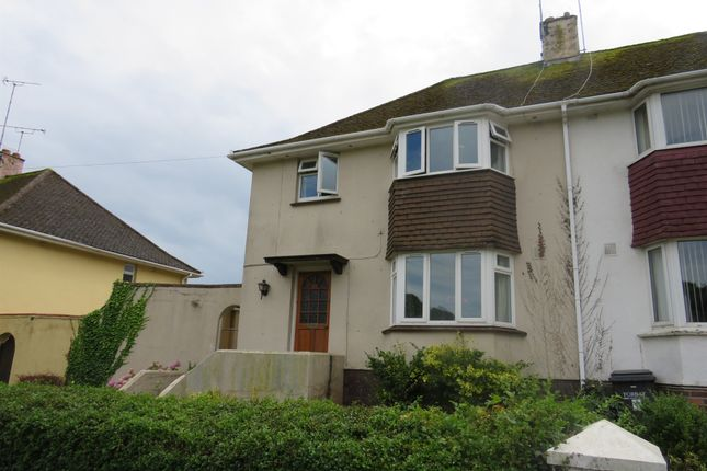 Thumbnail Semi-detached house for sale in Halsteads Road, Torquay