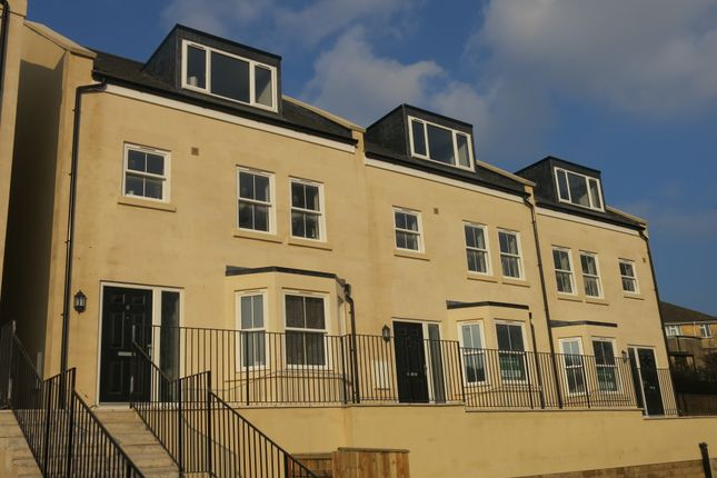 Thumbnail End terrace house to rent in Uphill Drive, Bath