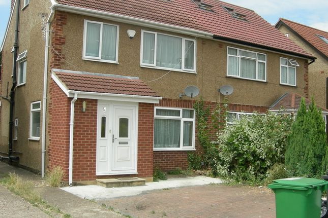 Thumbnail Semi-detached house to rent in Hillary Road, Langley, Slough