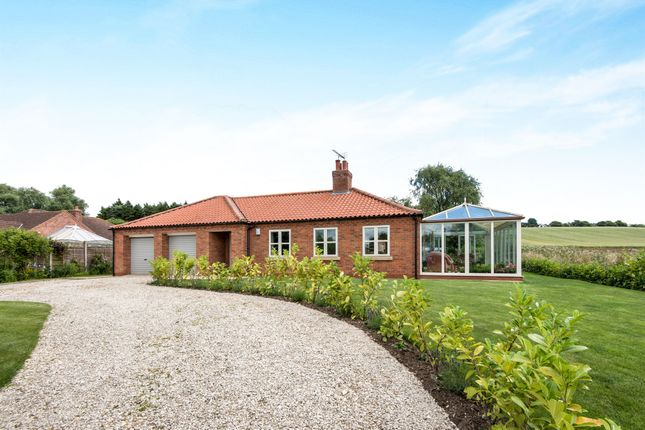 Thumbnail Detached bungalow for sale in Weldon Road, Hemswell, Gainsborough