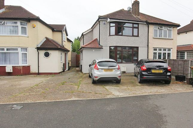Thumbnail Semi-detached house for sale in Hook Lane, Welling, London