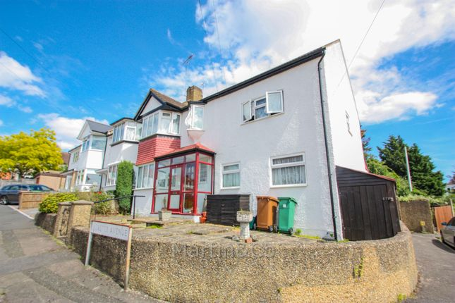 Thumbnail 5 bedroom end terrace house for sale in Minster Avenue, Sutton
