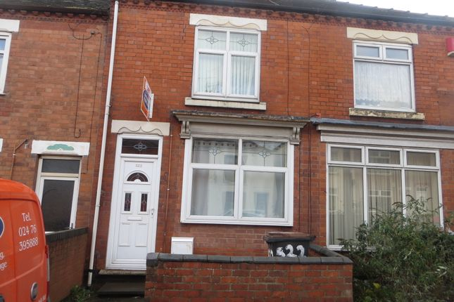 Thumbnail Terraced House To Rent In Heath End Road Nuneaton