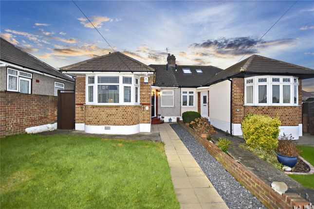 Thumbnail Semi-detached bungalow for sale in Bedonwell Road, Bexleyheath, Kent