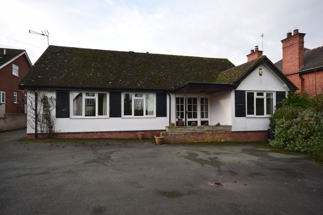 Thumbnail Detached bungalow to rent in Tarporley Road, Whitchurch, Shropshire