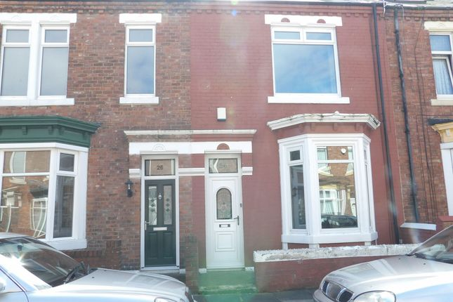 Thumbnail Terraced house to rent in Trajan Street, South Shields