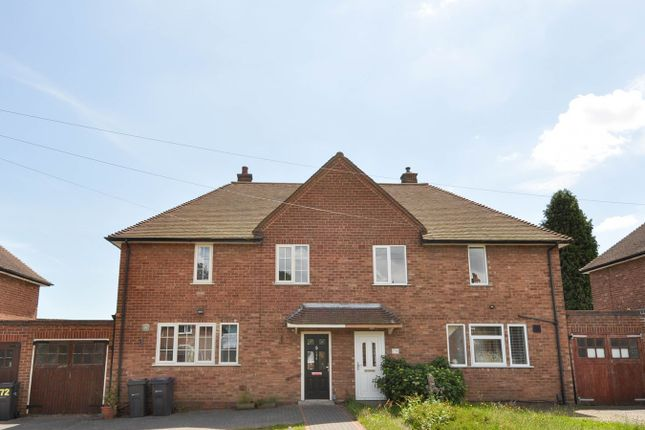 Thumbnail Semi-detached house for sale in Green Meadow Road, Bournville Village Trust, Selly Oak