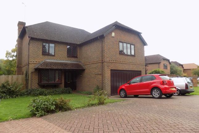 Thumbnail Detached house to rent in Lych Gate Close, Sandhurst