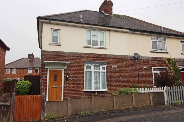 Thumbnail Semi-detached house for sale in Nevill Street, The Leys, Tamworth, Staffordshire