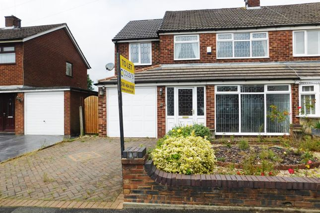 Thumbnail Semi-detached house to rent in Alder Road, Failsworth, Manchester