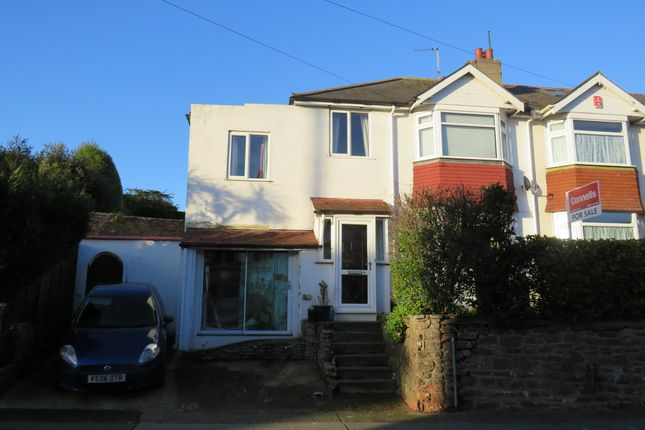 Thumbnail Terraced house for sale in Lower Polsham Road, Paignton