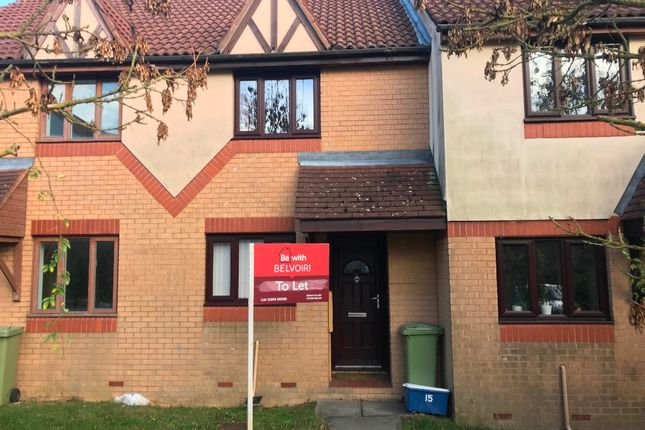 Thumbnail Terraced house to rent in Trentishoe Crescent, Furzton, Milton Keynes