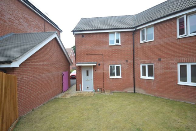 Thumbnail Flat for sale in Costessey, Norwich