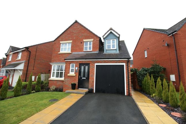 Thumbnail Detached house for sale in Essington Way, Brindley Village, Stoke-On-Trent