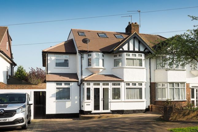 Thumbnail Semi-detached house for sale in Woodstock Avenue, Sutton