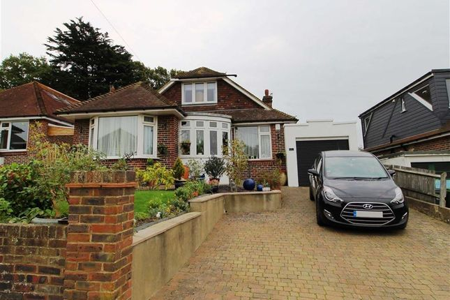 Thumbnail Detached bungalow for sale in Shirley Drive, St Leonards-On-Sea, East Sussex