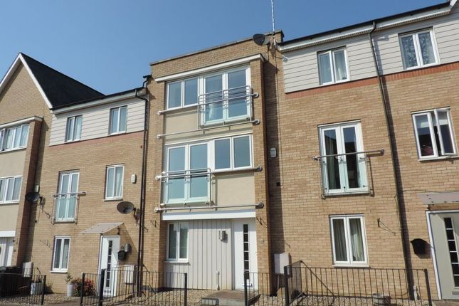 Thumbnail Terraced house to rent in Clayburn Road, Hampton Hargate, Peterborough.